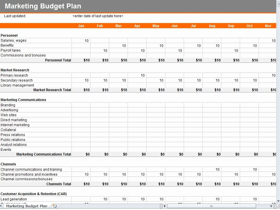 Excel Marketing Plan Template Fresh Excel Template Help