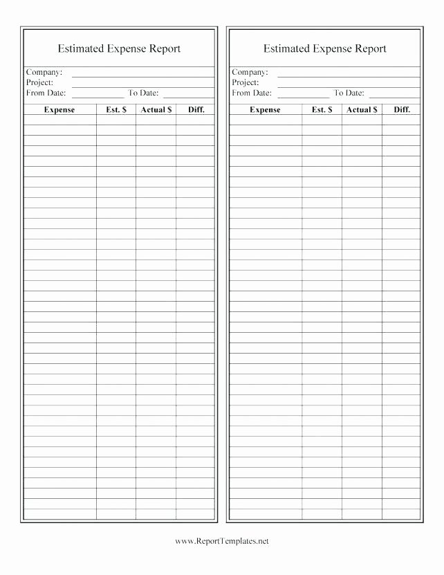 Excel Mileage Log Template Awesome Expense Log Template Expert Travel Excel Report Mileage