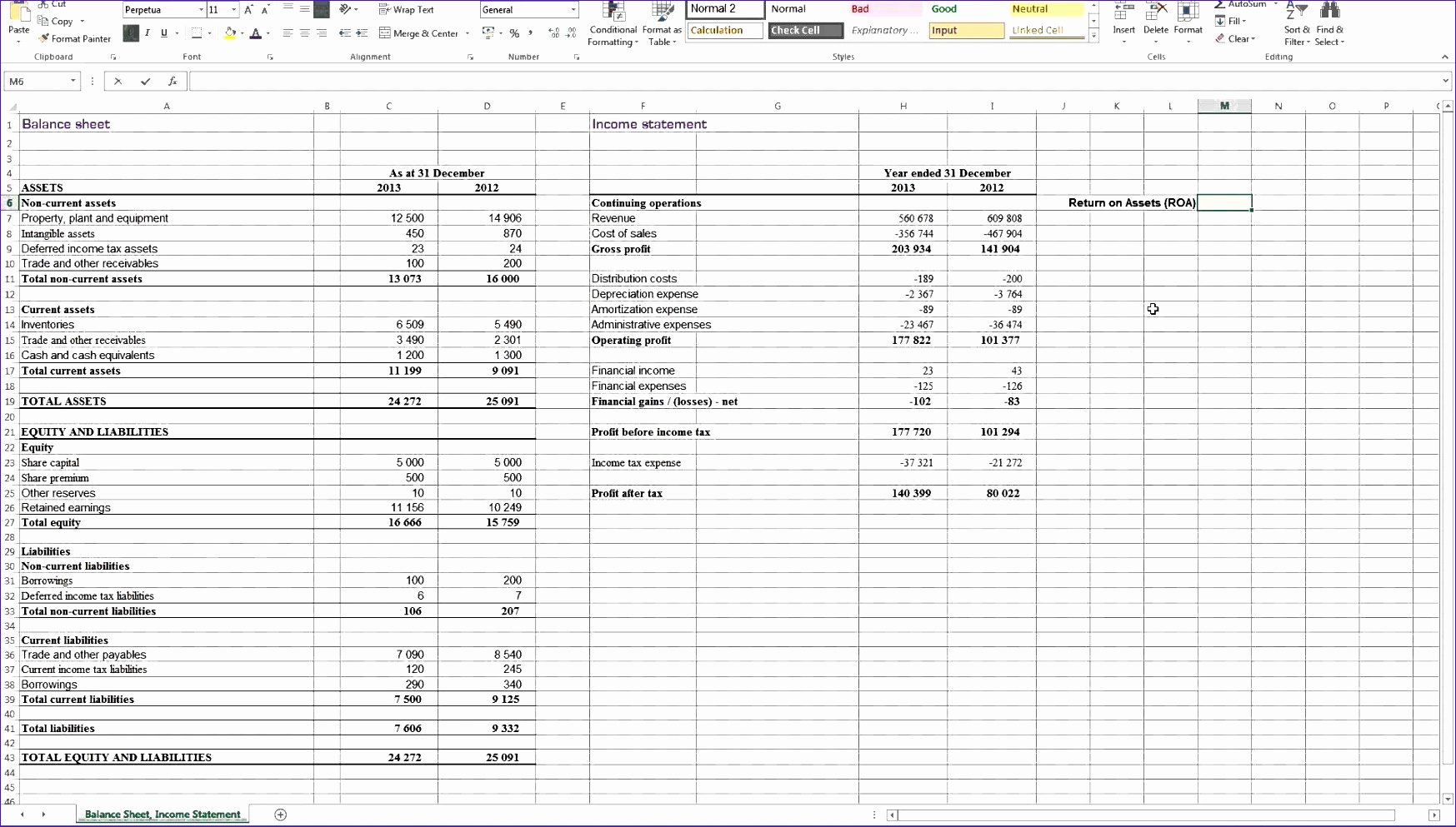 Excel P&l Template Luxury 5 Excel Templates for Financial Statements