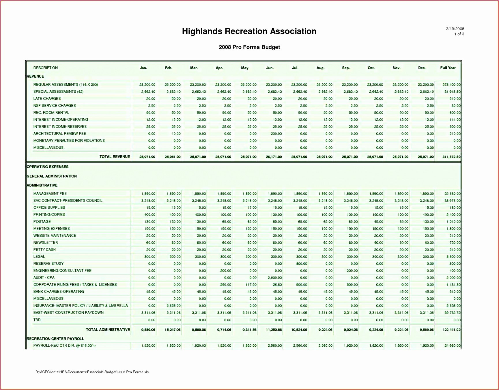 Excel P&l Template Unique 6 Business Financial Statement Template Excel