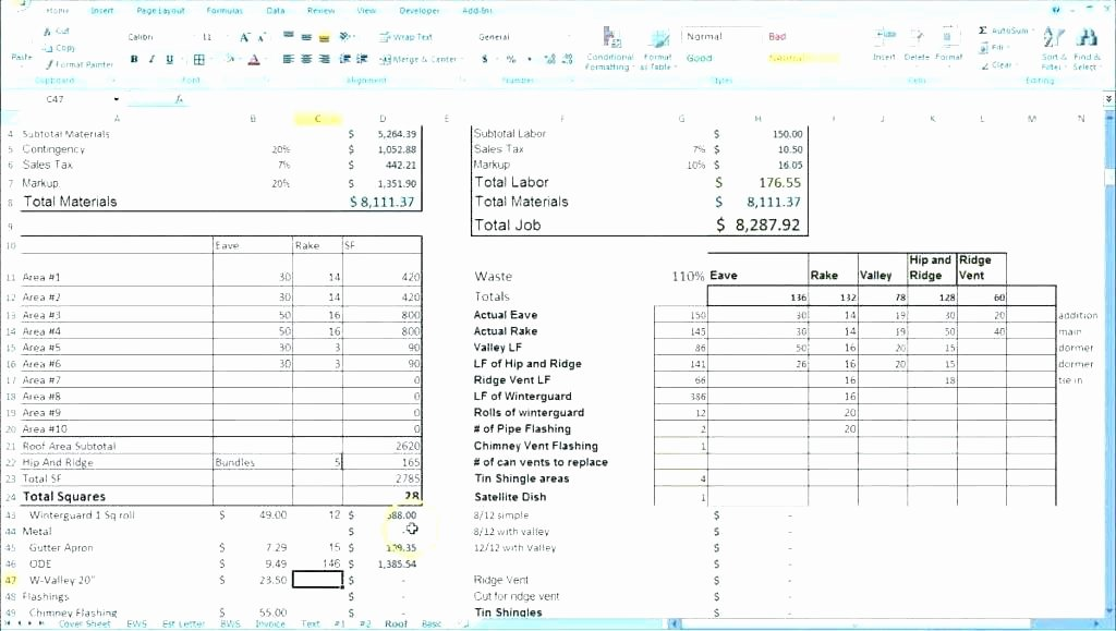 Excel Price Sheet Template Fresh Pany Parison Template Price Sheet Matrix Bid Excel