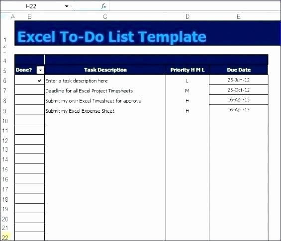 Excel Project Checklist Template Awesome Work to Do List Template Word Free Checklist todo