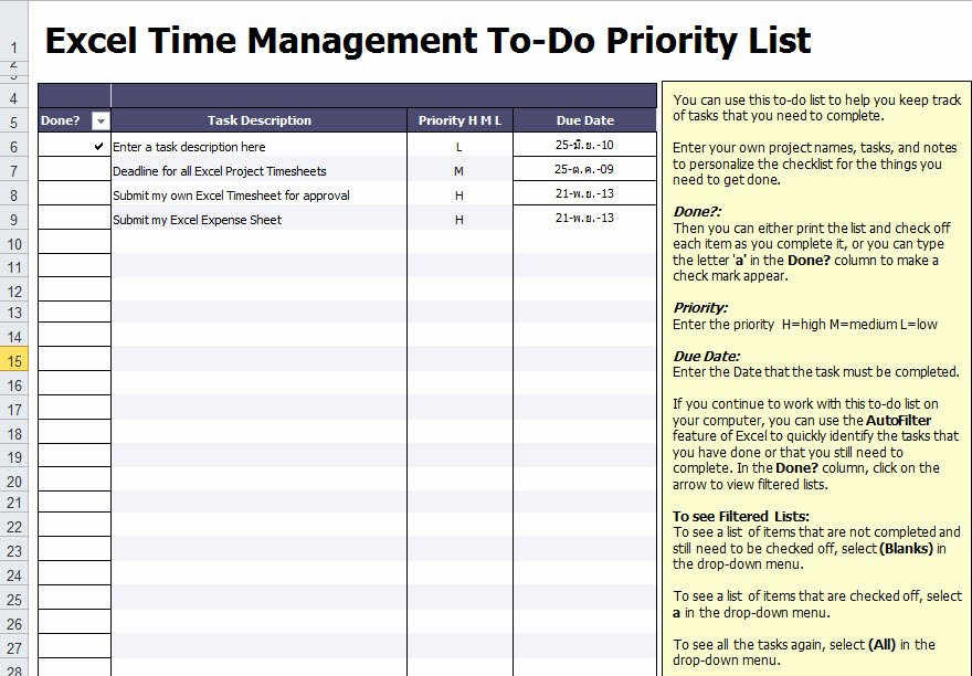 Excel Project Checklist Template Best Of Weekly Daily Project Task List Template Excel Word