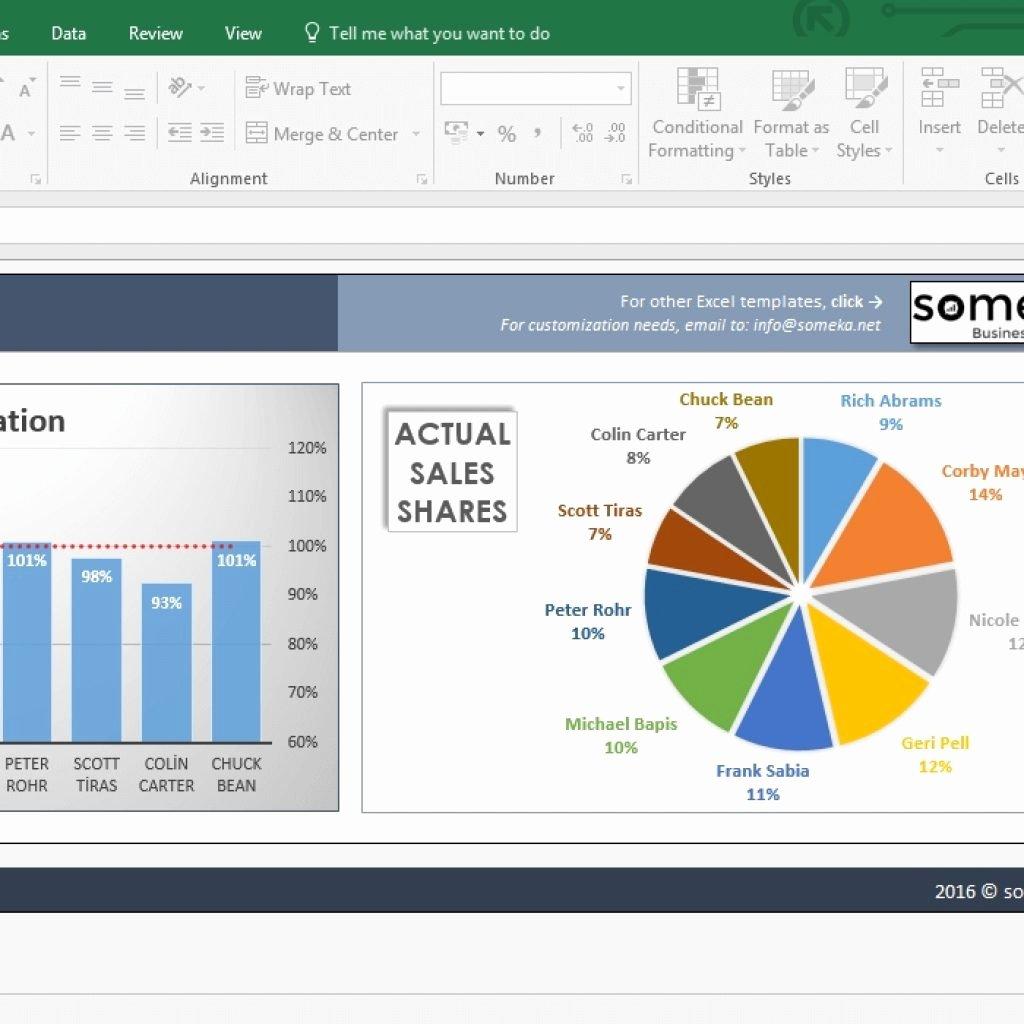 Excel Sales Tracking Template Elegant Salesman Performance Tracking Excel Spreadsheet Template