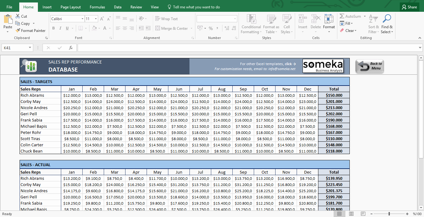 Excel Sales Tracking Template New Salesman Performance Tracking Excel Spreadsheet Template