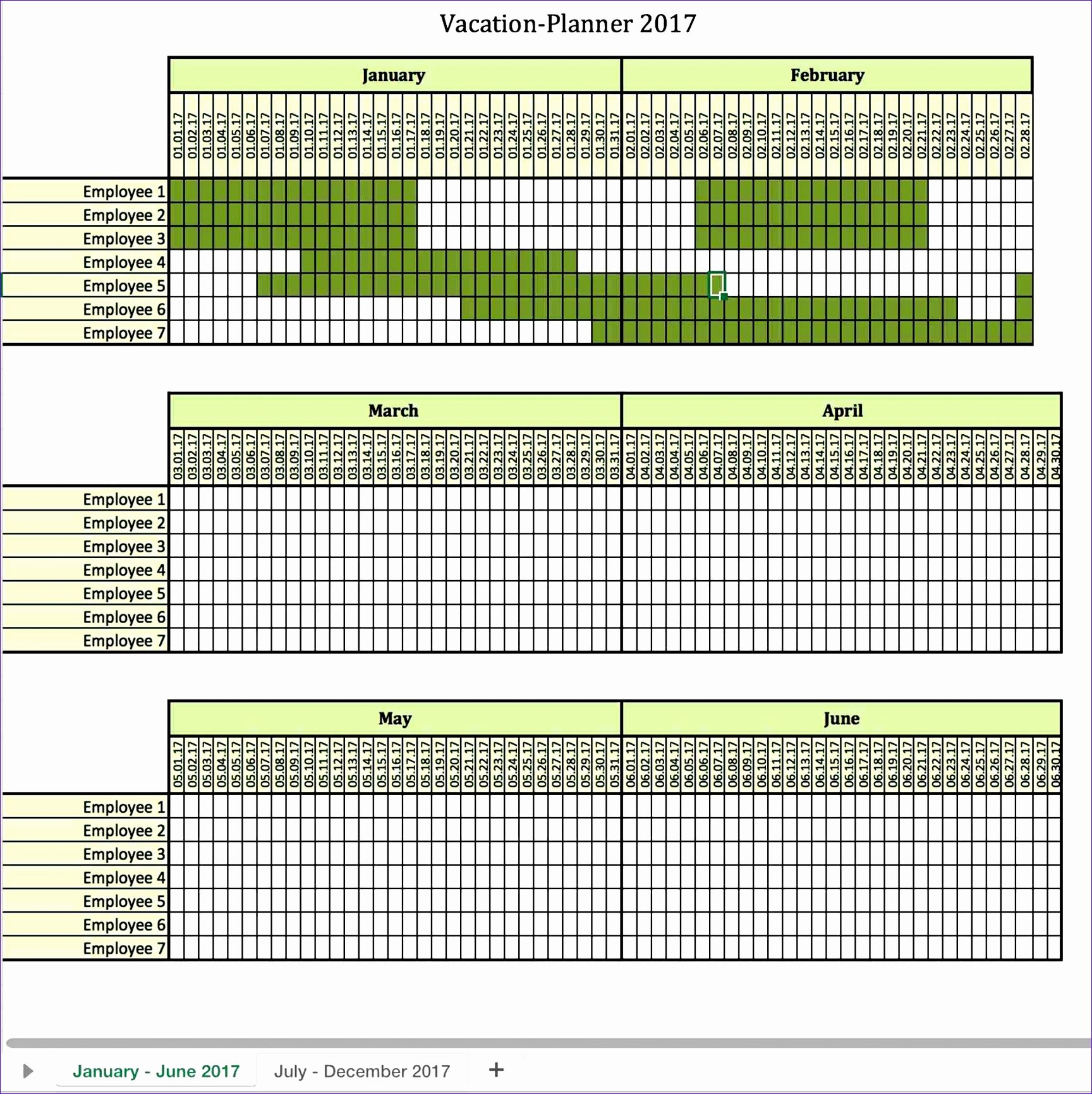 Excel Shift Schedule Template New 8 Monthly Employee Work Schedule Template Excel