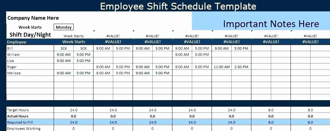 Excel Shift Schedule Template New 95 Job Handover Template Excel 31 Handover Report
