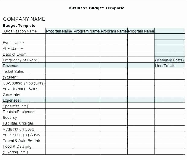 Excel Small Business Budget Template Awesome Small Business Bud Template Excel Month Business Bud