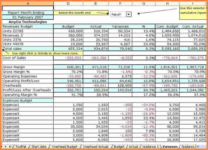 6 accounting spreadsheet for small business