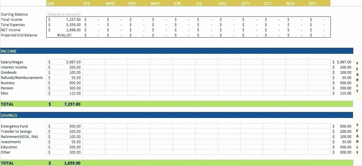 Excel Small Business Budget Template Unique Excel Small Business Bud Template – Picks