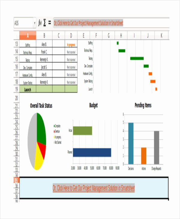 Excel Task Management Template Fresh 8 Excel Project Management Templates