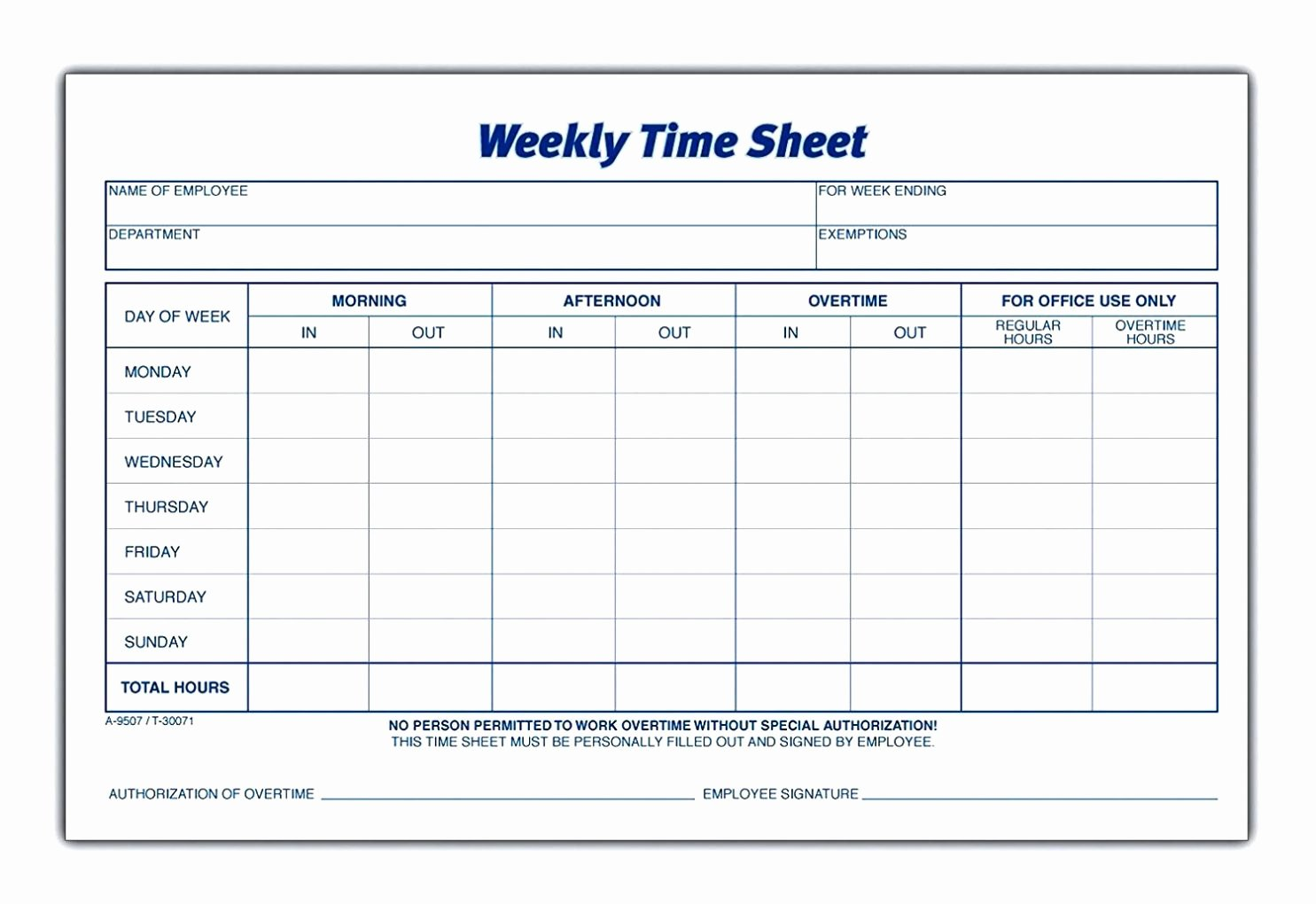 Excel Time Card Template Fresh Download Calculate Hours Worked In Excel
