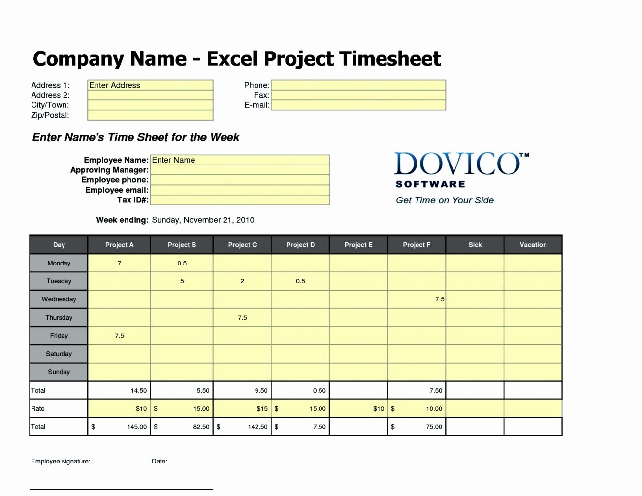 Excel Time Card Template Lovely Free Excel Time Card Template Template Update234