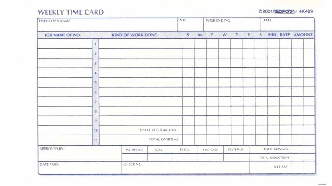 Excel Time Card Template Lovely Timesheet Template Free Download Month Excel Timecard