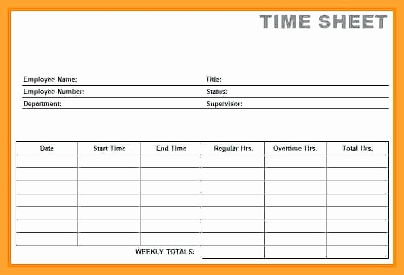 Excel Time Card Template Luxury Timesheet Template Free Download Month Excel Timecard