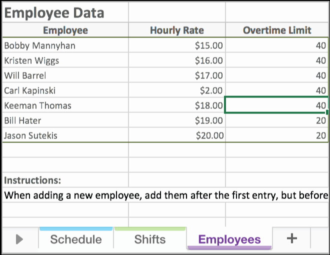 Excel Work Schedule Template Beautiful Free Excel Employee Scheduling Template