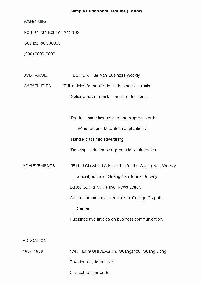 Executive Hybrid Resume Template Beautiful Executive Resume Builder – Judetulsatumare