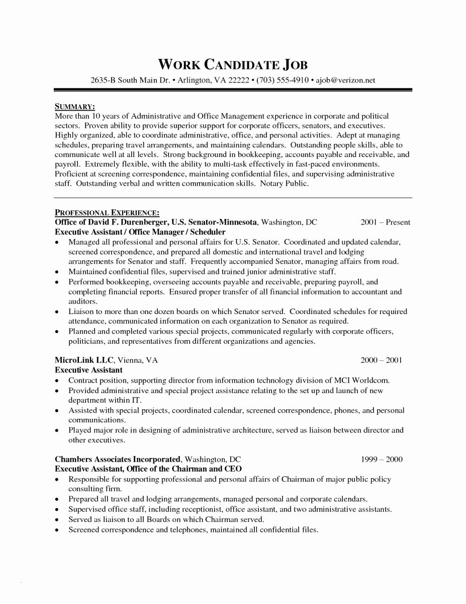 Executive Hybrid Resume Template Inspirational Executive Hybrid Resume Template – Hybrid Resume Template