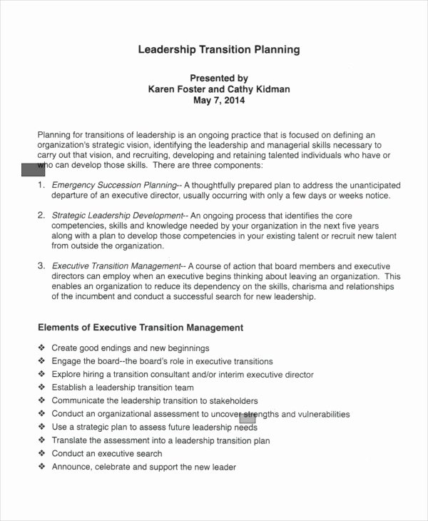 Executive Transition Plan Template Awesome 7 Transition Plan Template Ai Psd Google Docs Apple