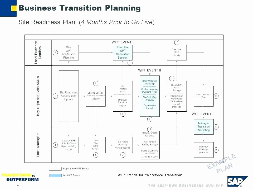 Executive Transition Plan Template New Business Transition Plans Examples Business Transition