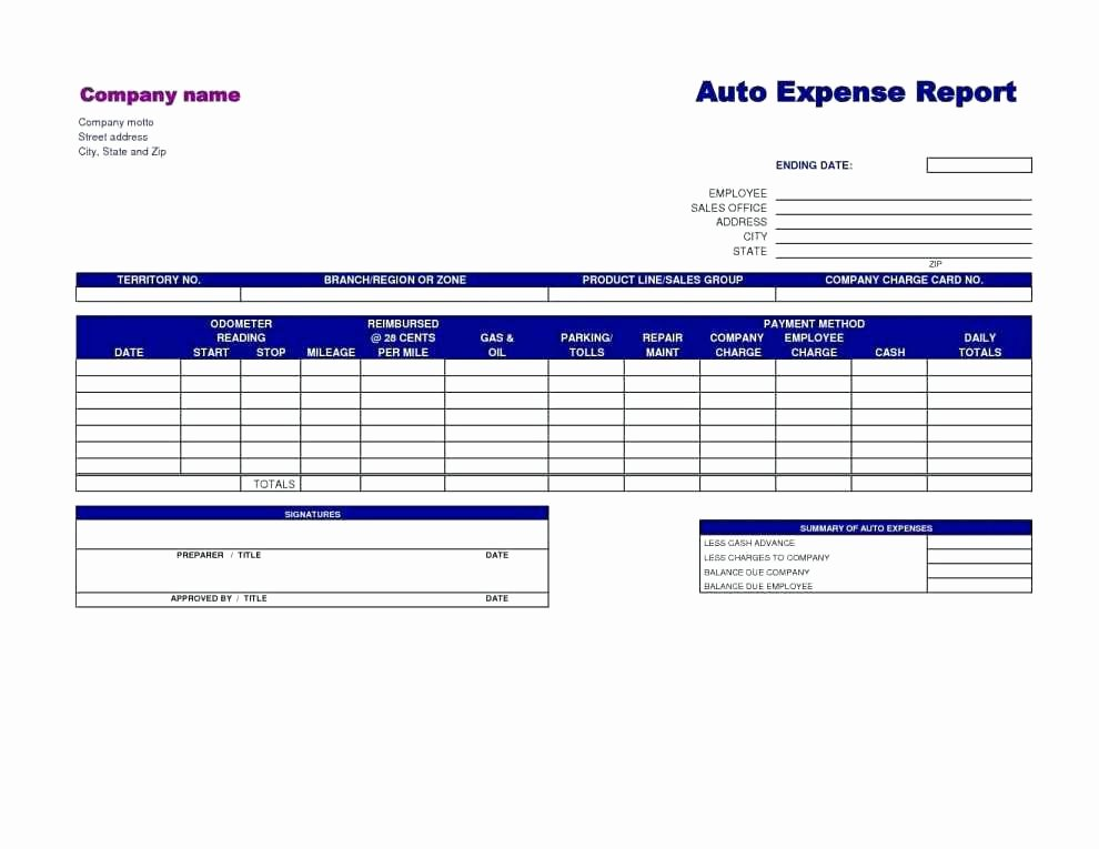 Expense Report Excel Template Best Of Free Google Business Templates Monthly Expense Report