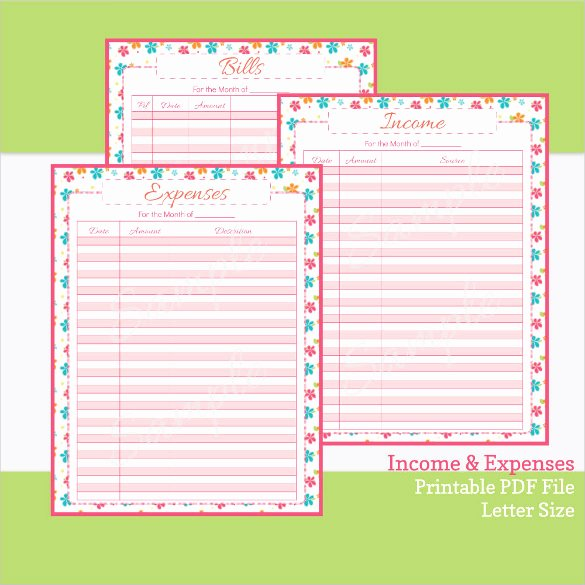 Expense Tracking Sheet Template Best Of Free Printable In E and Expense Sheet Best Photos Of