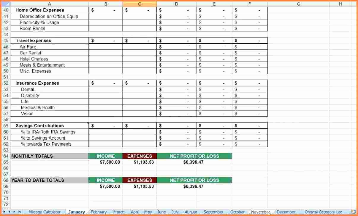 Expense Tracking Sheet Template Inspirational 7 Realtor Expense Tracking Spreadsheet