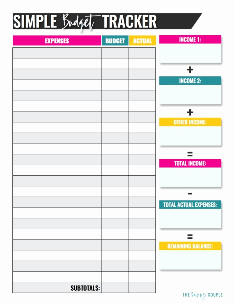 Expenses Sheet Template Free Awesome 10 Bud Templates that Will Help You Stop Stressing