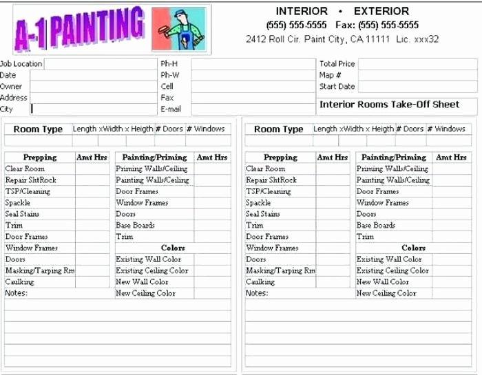 Exterior Painting Estimate Template Elegant Bad Painting Job Bidding Interior Paint Jobs Dpaperwall