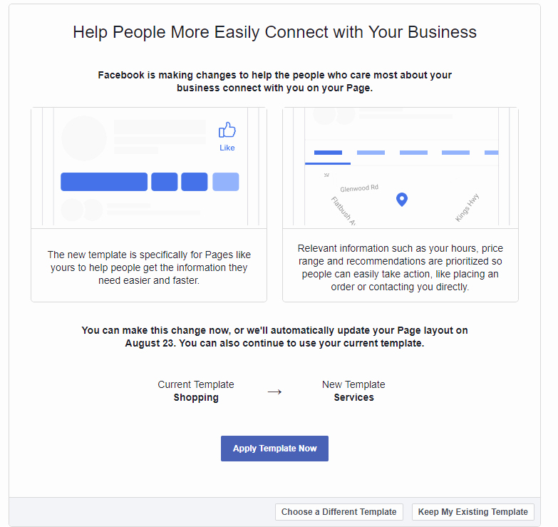 Facebook Business Page Template Awesome Redesigns Business Pages Introduces New