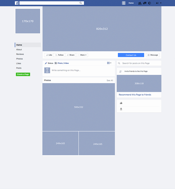 Facebook Business Page Template Elegant Business Page Template – Emmamcintyrephotography
