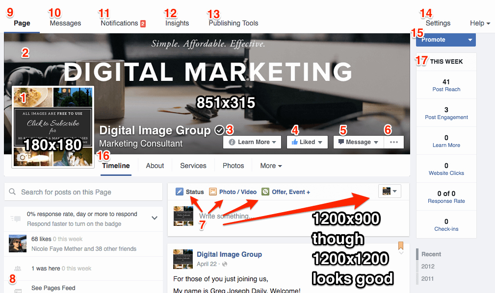 Facebook Business Page Template Fresh Business Page Template with Checklist Digital
