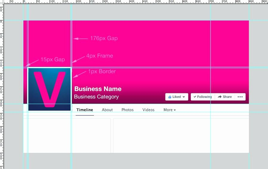 Facebook Business Page Template Lovely Business Template Psd Page Design