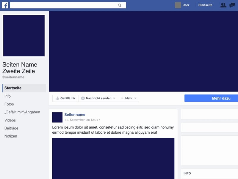 Facebook Business Page Template Lovely Page Template Beepmunk