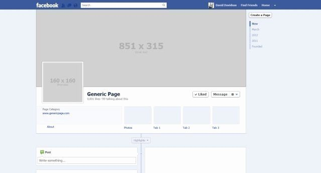 Facebook Business Page Template Luxury Blank Psd Template Good for Fb Profile