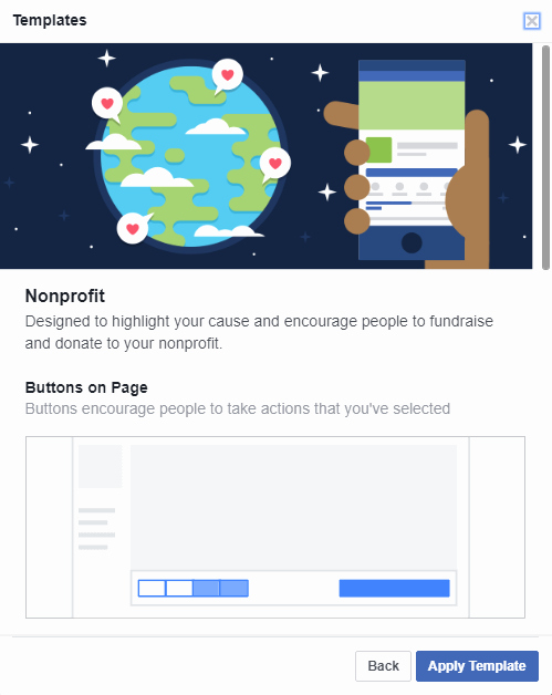 Facebook Business Page Template New S New Nonprofit Business Page Template