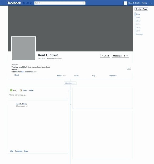 Facebook Business Page Template New Template for Business – Helenamontanafo