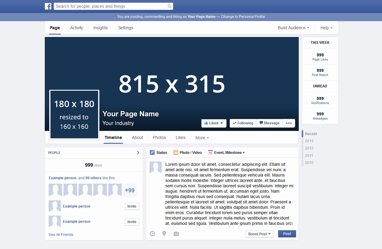 Facebook Page Design Template Beautiful 7 Tips to Numerous Likes On socioboard Blog