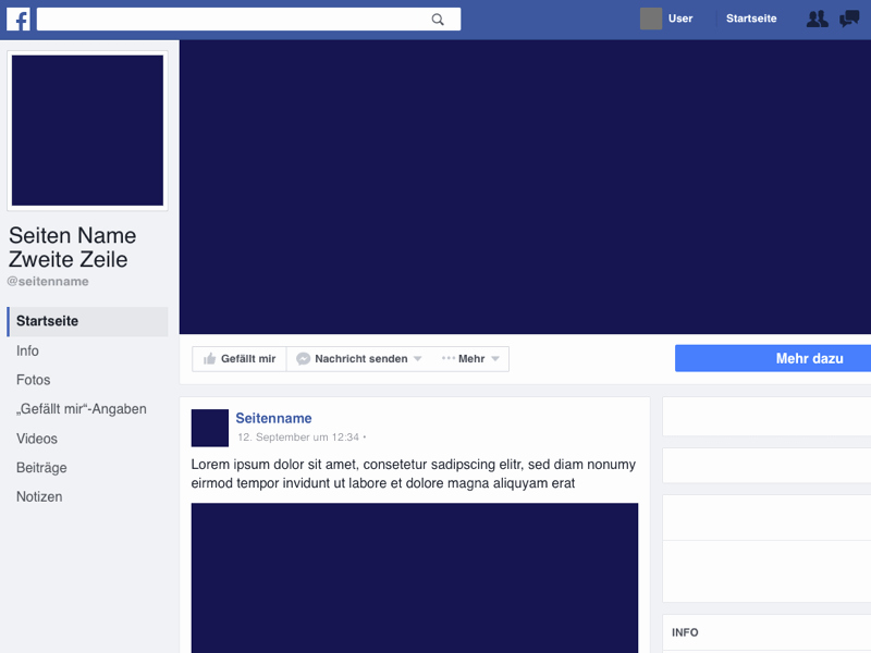Facebook Page Design Template Elegant Page Template 2016 Sketch Freebie Download Free