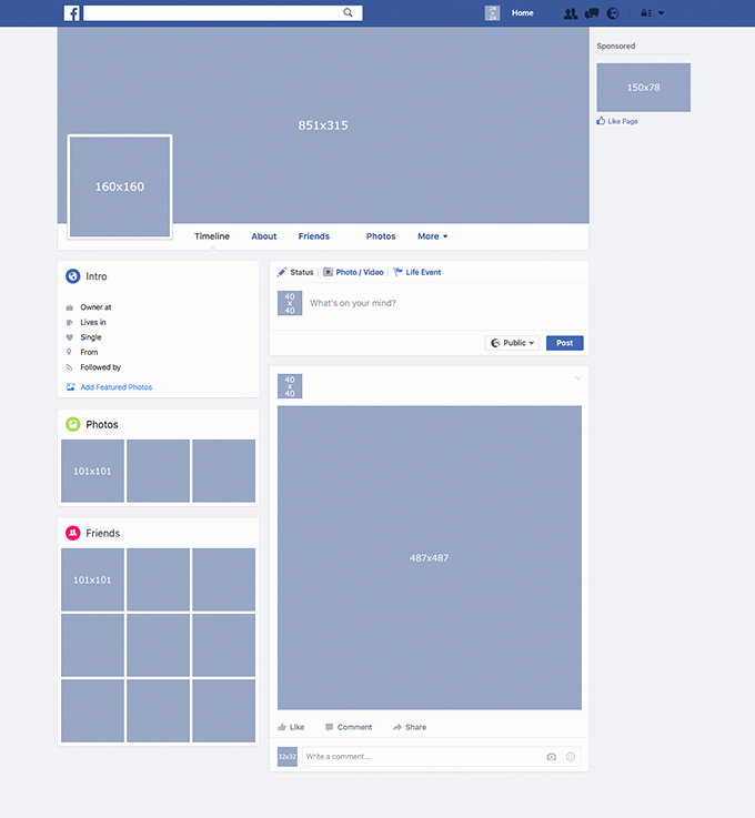 Facebook Page Design Template Fresh Template