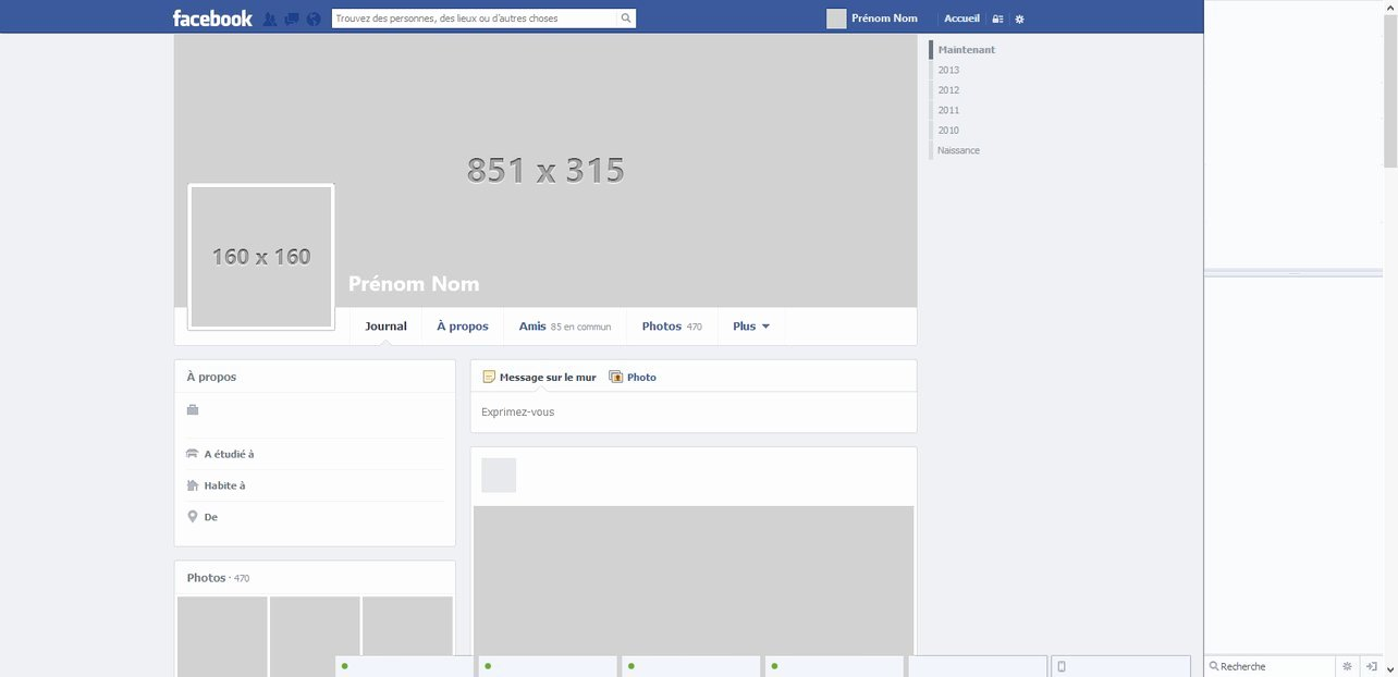 Facebook Page Design Template Lovely Template by Nicolasmzrd On Deviantart