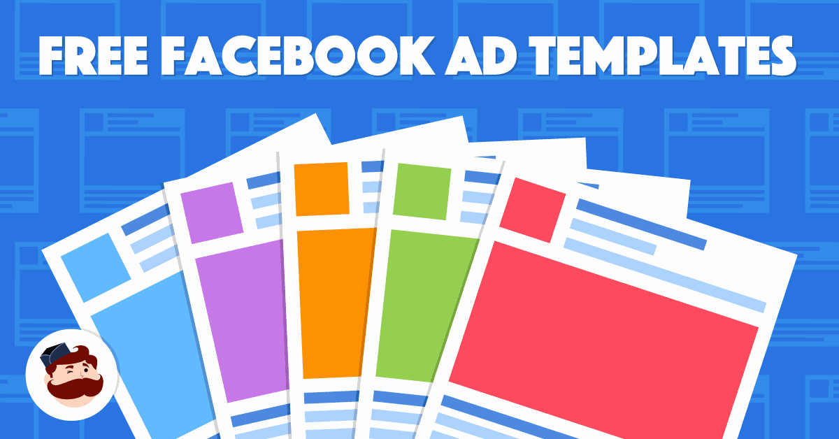 Facebook Page Design Template Unique Ad Template