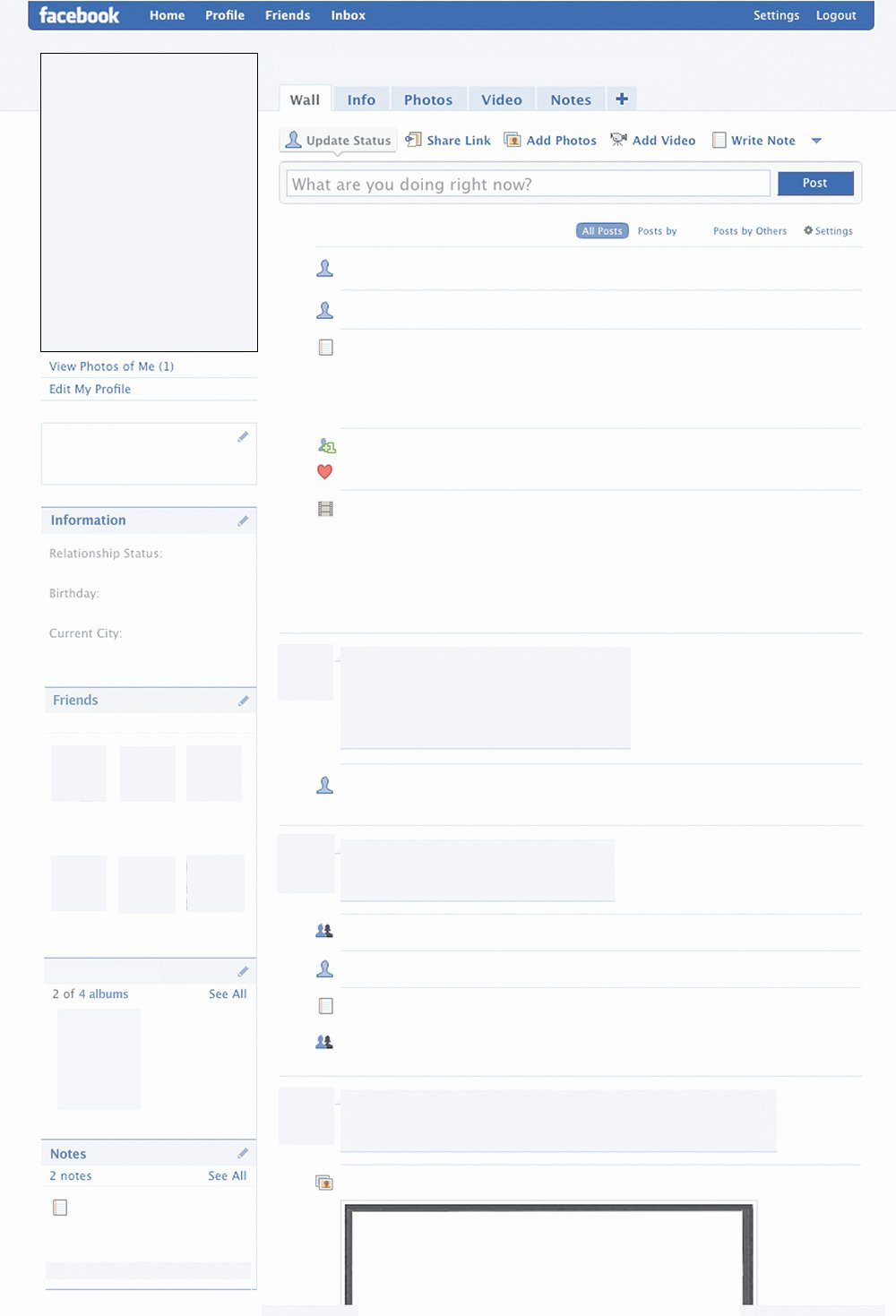 Facebook Post Design Template Elegant Template
