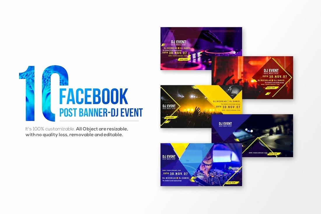 Facebook Post Design Template Fresh 20 Best Cover & Post Mockups