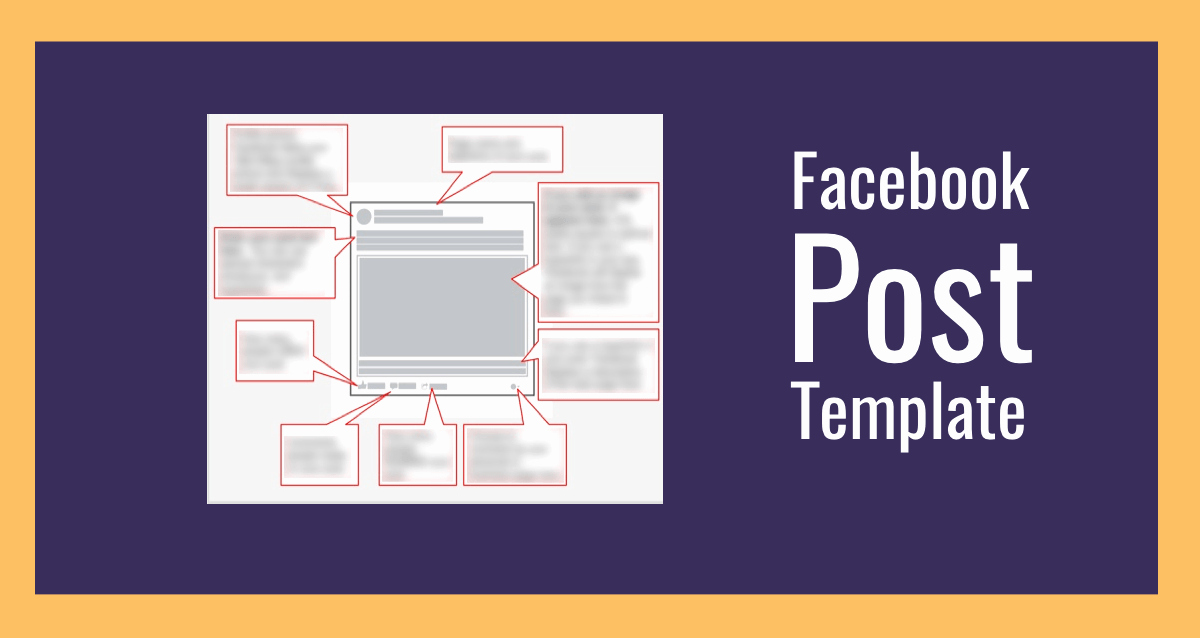 Facebook Post Design Template Fresh Post Template Bing Images