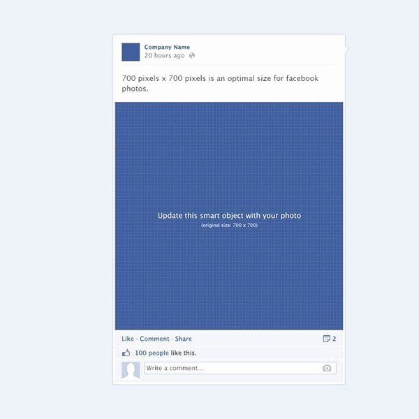 Facebook Post Design Template Fresh Wall