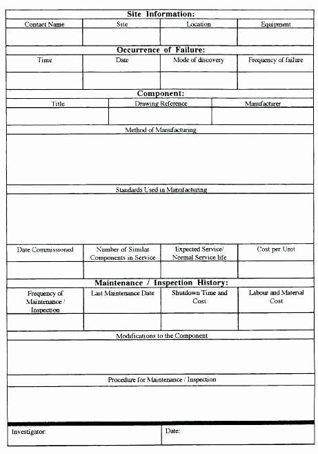 Failure Analysis Report Template Awesome Root Cause Analysis Template Doc Free Templates Failure