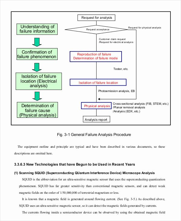 Failure Analysis Report Template New 8 Editable Failure Analysis Templates Pdf Word