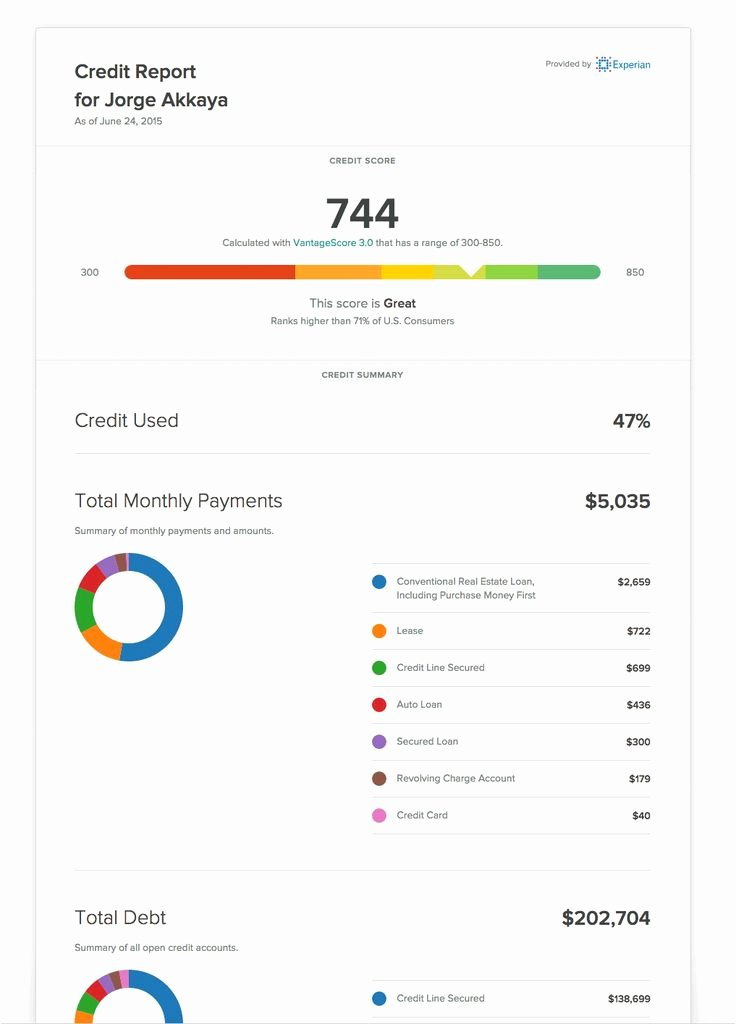 Fake Credit Report Template Unique Cozy Credit Reports Credit and Background Check Site for