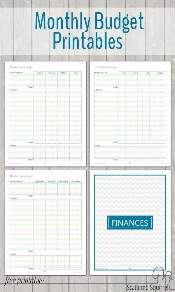 Family Budget Planner Template Awesome Best 25 Printable Bud Sheets Ideas On Pinterest